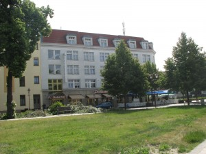 Our Hotel on the German-Poland Border