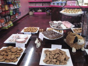 Yummy treats just for dogs!