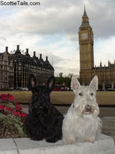 Boone and Kenzie in London, England