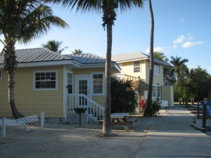 A couple of the Castaways colorful cottages!